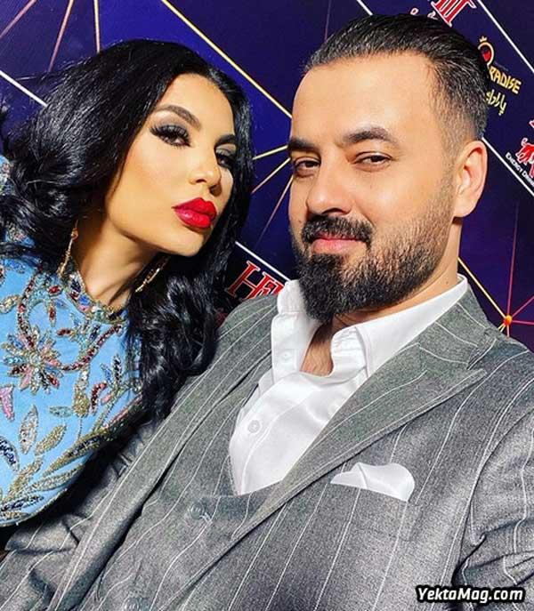 آریانا سعید و همسرش حسیب سائد