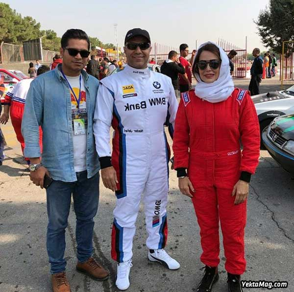 قهرمان اتومبیلرانی زنان ایران