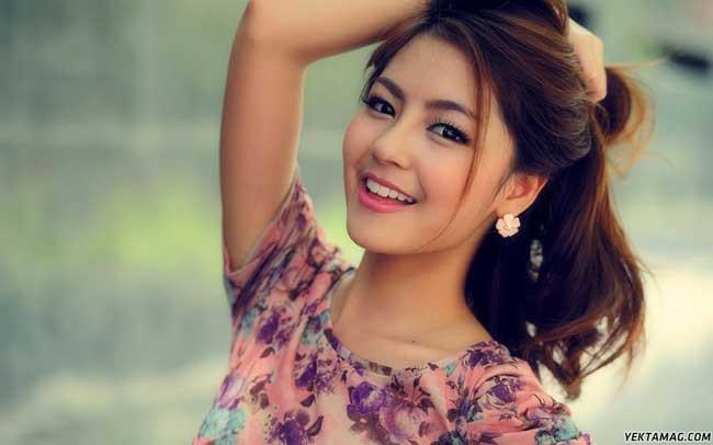 دختر خوشگل و جذاب