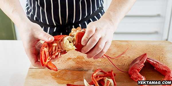 چگونه گوشت خرچنگ را از پوسته جدا کنیم؟