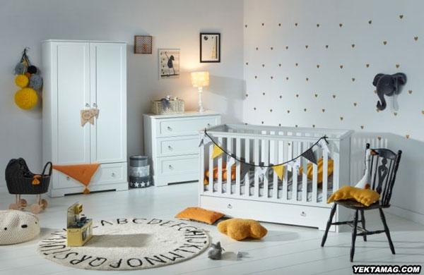 مدل تخت و کمد بچگانه