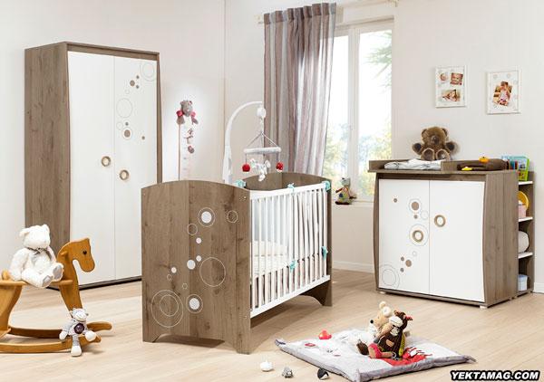 مدل تخت و کمد نوزاد ارزان